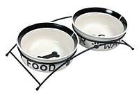 Миски на подставке Eat on Feet Bowl Set, фото 1