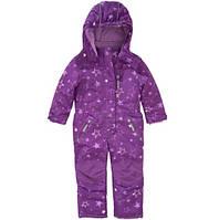Цельный термокомбез для девочки TOPOLINO фиолет звезды, фото 1