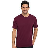 Мужская футболка Sofspun цвет Белый Fruit of the Loom  от 1 шт Бордовый