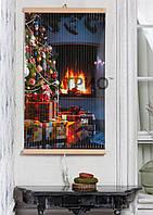 Інфрачервоний настінний обігрівач Новий рік ТРІО