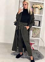 Женский костюм кардиган+брюки / двунитка петля / Украина 44-0082, фото 1