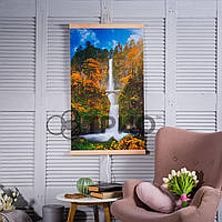 Інфрачервоний настінний обігрівач Водоспад з містком ТРІО