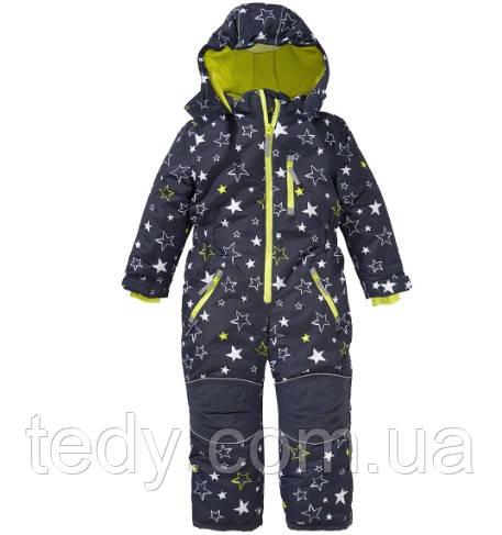 ТERMOкомбинезон TOPOLINO(аналог Reima Tec) синие звёзды, фото 1