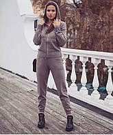 Женский Вязаный Костюм с капюшоном, фото 1