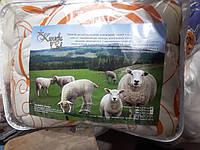 Одеяло закрытое шерстяное полуторное Королева Снов, наполнитель овечья шерсть, фото 1