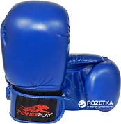 Перчатки боксерские Powerplay 3004 / PU / blue 12oz
