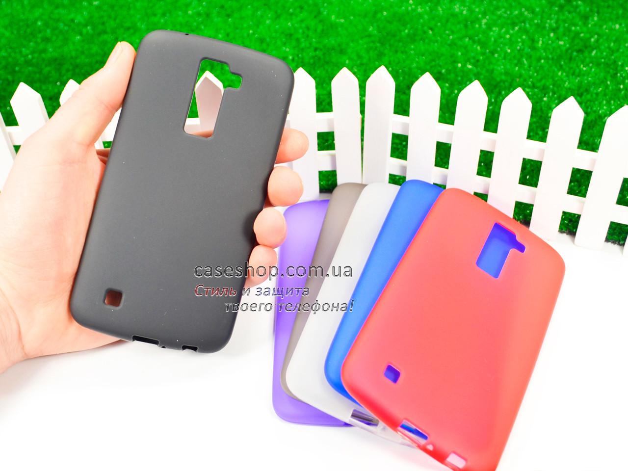 Силиконовый TPU чехол для LG K430 Dual Sim