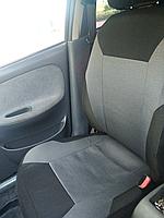 Чехлы сидений ВАЗ 2110с серыми вставками