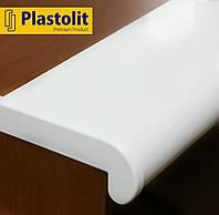 Прочный подоконник Plastolit Белый Матовый, 100 мм