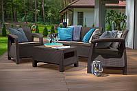 Набор садовой мебели Bahamas Set Brown ( коричневый ) из искусственного ротанга, фото 1