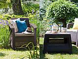 Набор садовой мебели Bahamas Set Brown ( коричневый ) из искусственного ротанга, фото 5