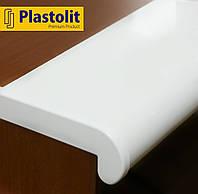 Прочный подоконник Plastolit Белый Матовый, 150 мм