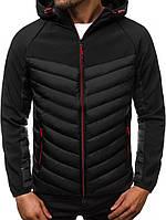 Куртка мужская осенняя ( Размеры XL XXL). Стильная мужская курточка черная