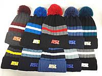Мужская зимняя шапка RSL разные цвета
