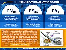 Анализатор формальдегида и качества воздуха PCE-RCM 8 (Германия), фото 3