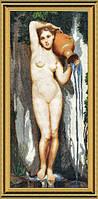 Набор для вышивки крестом Девушка с кувшином(Источник) №362