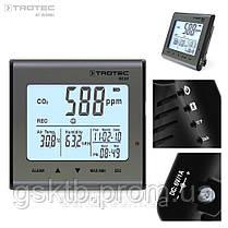Анализатор и регистратор влажности, температуры и СО2 Trotec BZ30  (Германия), фото 3