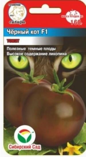 Семена Томат Черный кот.