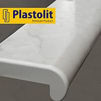 Прочный подоконник Plastolit Мрамор Глянец, 350 мм