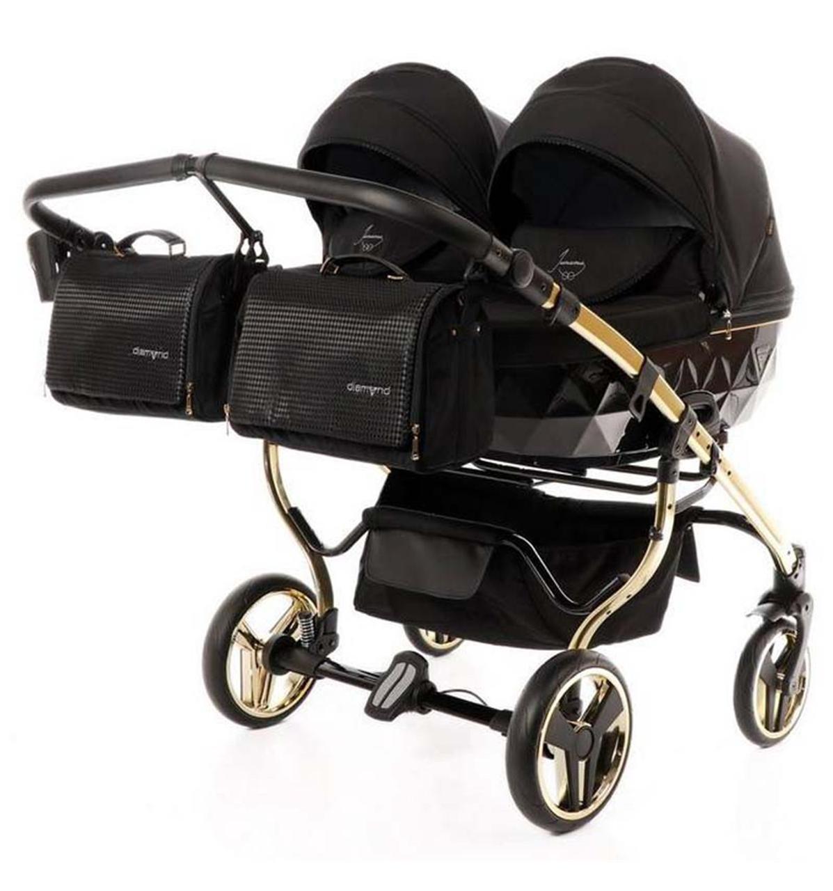 Универсальная коляска для двойни Tako Junama Diamond S-Line Gold Duo