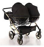 Универсальная коляска для двойни Tako Junama Diamond S-Line Gold Duo, фото 5