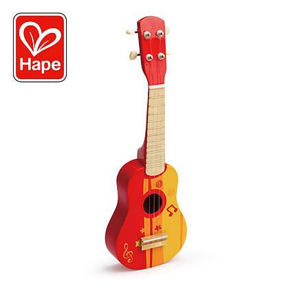 Дитяча гітара укулеле Hape E0316