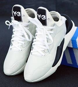 Мужские Кроссовки Yohji Yamamoto x Adidas Y-3 Kaiwa Chunky Sneakers Light Grey/White
