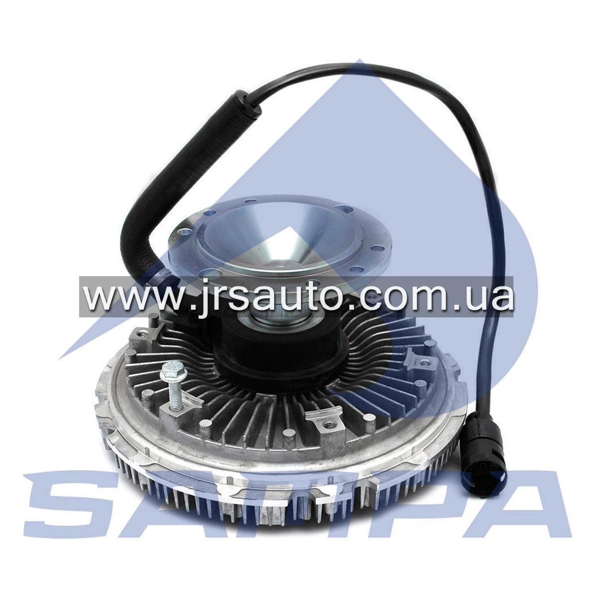 Вискомуфта вентилятора (гидромуфта, вентилятор охлаждение двигателя) DAF F95 / 95XF / XF95 (d233 mm) \1427573 \ 051.022