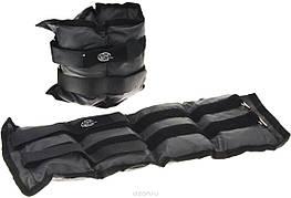 Утяжелители на липучке, (чёрный) - 5 кг (вес и цена за пару)