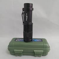 Тактический фонарь POLICE BL 525 Q5 99000W фонарик 300 Lumen USB