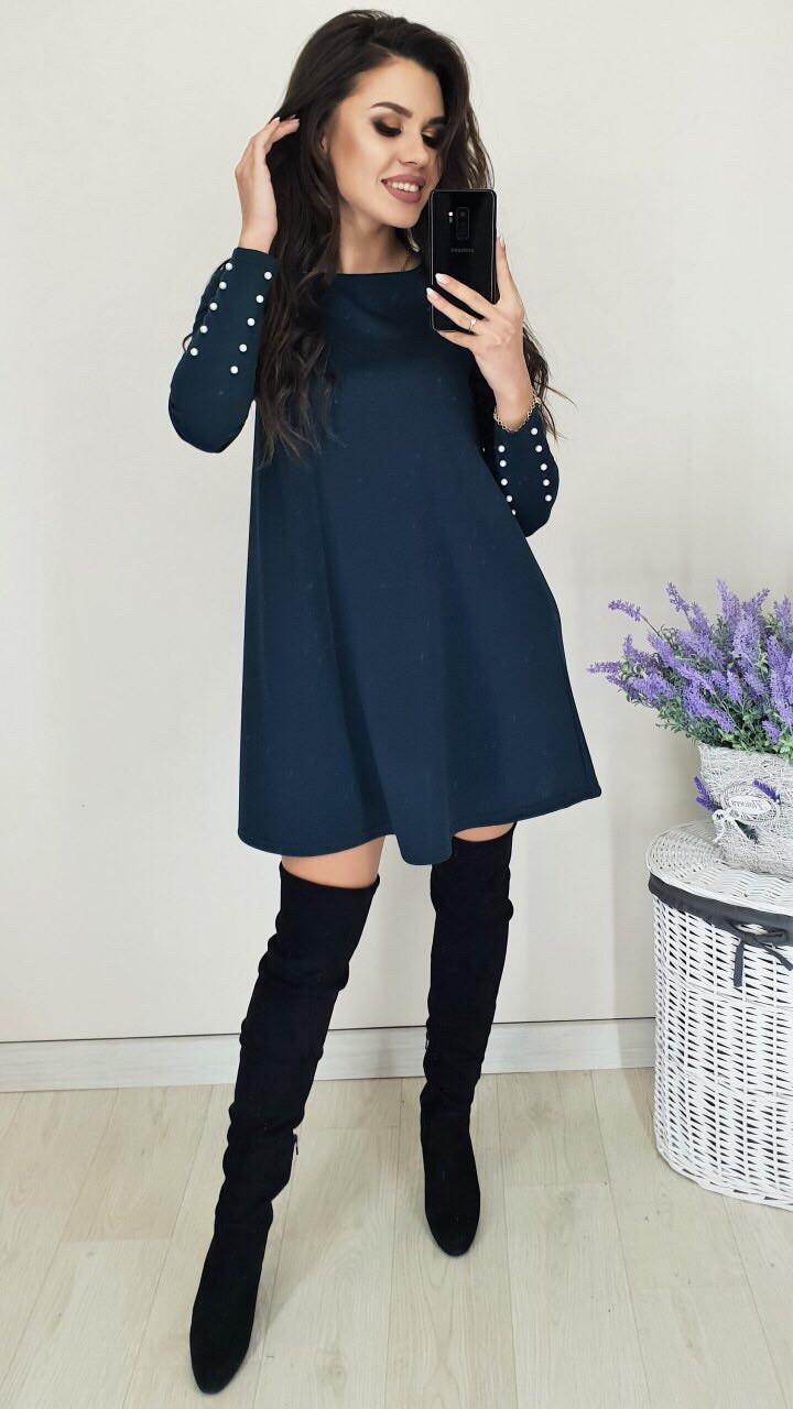 Платье женское свободного покроя в расцветках
