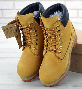 "Женские Ботинки Timberland 6 inch Lite Edition ""Yellow"" (Тимберленд)"