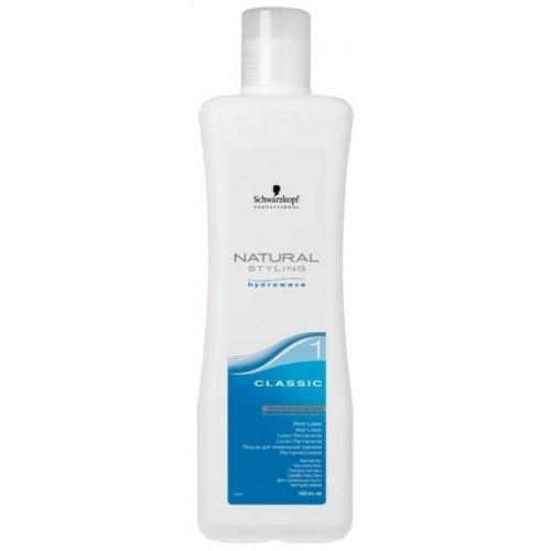 Лосьон для химической завивки для окрашенных, осветленных, пористых волос Schwarzkopf Natural Styling hydrowav