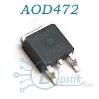 AOD472, (D472), MOSFET Транзистор, N-канал 25В, 50А, TO252