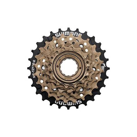 Звезды задние Shimano MF-TZ21 Tourney 7ск. 14-28T бронз., фото 2