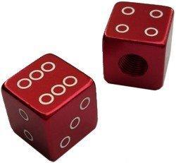Колпачек для камер X17, алюм. (кубик), красные