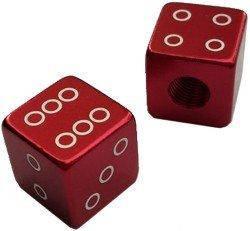 Колпачек для камер X17, алюм. (кубик), красные, фото 2