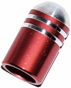 Колпачек для камер X17, алюм. (пуля), AV-тип, розов.