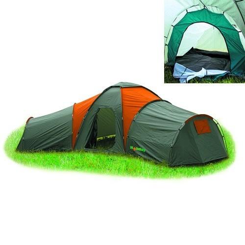Палатка кемпинговая HOLIDAY FAMILY TRIO (H-1051)