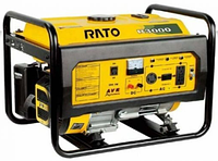 Бензиновая электростанция Rato R6000WTE (3ф, 6 кВт, стартер, колёса) MTG