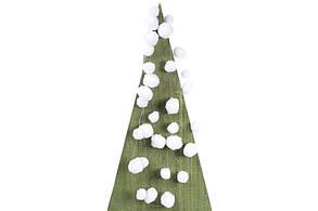 Декоративная гирлянда Снежки 180см BonaDi NY27-734