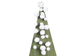Декоративная гирлянда Снежки 180см BonaDi NY27-733
