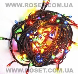 Гірлянда електрична 400 ламп 8 режимів блимання