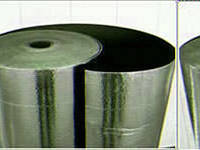 Алюфом R     синтетичний каучук с покрытием с алюминиевой фольгой   13 мм