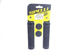 Грипсы Spelli SBG-660-Lock, Черные с черными замками