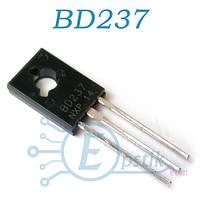 BD237, транзистор биполярный NPN, 100В, 2А, TO126