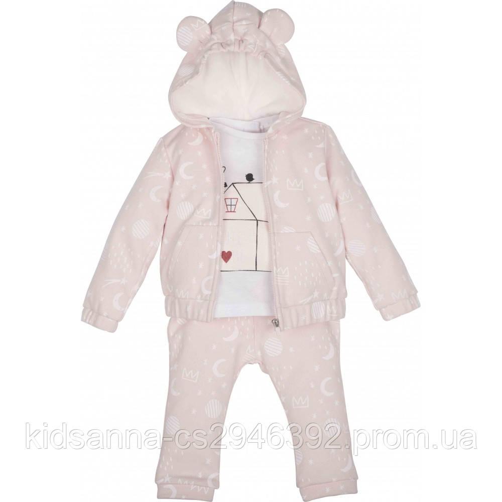 Комплект 3-ка для девочки ТМ Idil baby