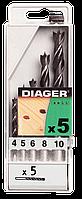 Набор сверл по дереву Трехточечное Pro (5 шт.) | Набір 3-х точ. STANDARD 8шт. 3-10 [SD0ST0901C00000000]