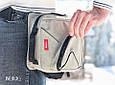 Сумка-трансформер Mixbag, одна сумка на все случаи динамичной жизни, бежевая 11,6, фото 10