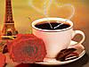 """Схема для вышивки бисером """"Утренний кофе"""""""